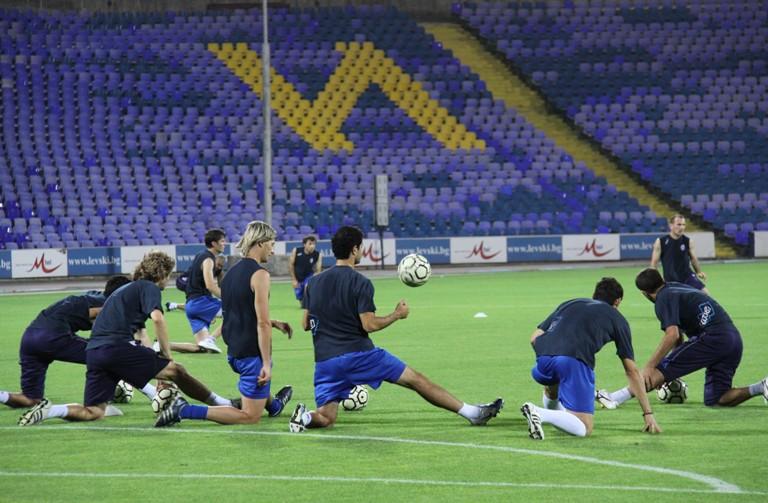 Qarabağ 0-3 levski (traning match)