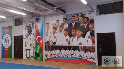 Azərbaycan Karate federasiyasının yeni zalları istifadəyə verildi