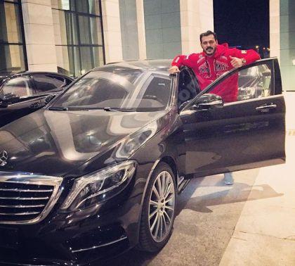Ramzan Kadırov Zabit Səmədova son model Mercedes hədiyyə etdi