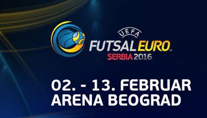 Сборная России в четвертьфинале чемпионата Европы 2016 по мини-футболу сыграет с Азербайджаном