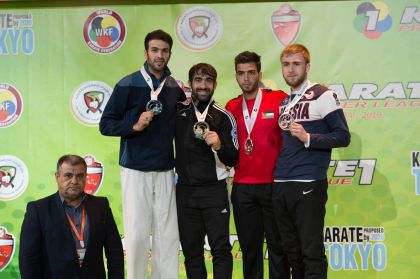 Karateçimiz Dubayda qızıl medal qazandı