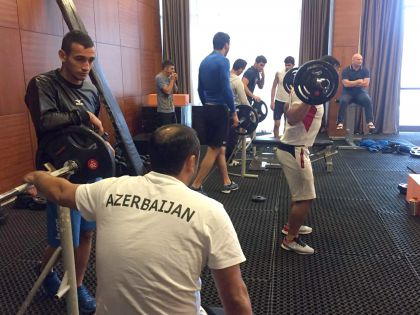 Cüdo üzrə milli komandamız Qusarda olimpiadaya hazırlaşır