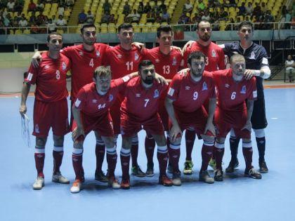 Сборная Португалии последней вышла вполуфиналЧМ помини-футболу вКолумбии