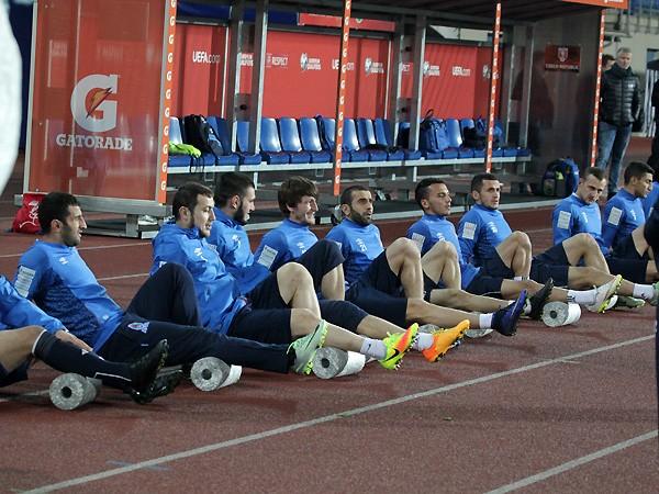 Сигал напутствовал футболистов сборной Азербайджана