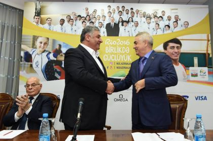 Руководитель «Азербайджанских железных дорог» стал уруля Федерации волейбола