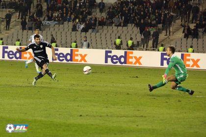 «Карабах» обыграл ПАОК Лига Европы; видео