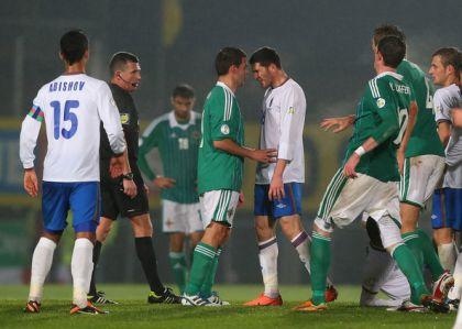 Сборная Азербайджана потерпела поражение вматче сСеверной Ирландией