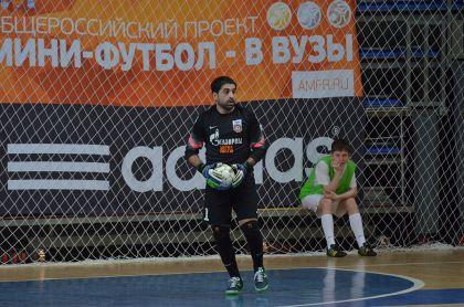 «Газпром-Югра» победил «Араз» вовтором матче Кубка УЕФА помини-футболу