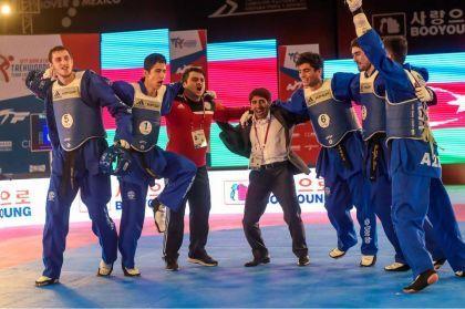 Taekvondoçularımız ardıcıl ikinci dəfə dünya çempionatının qalibi oldu