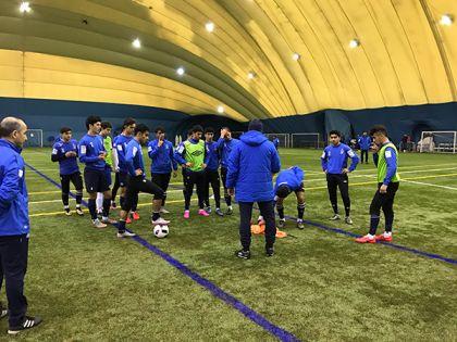 Русские футболисты забили восемь голов индийцам настарте мемориала Гранаткина
