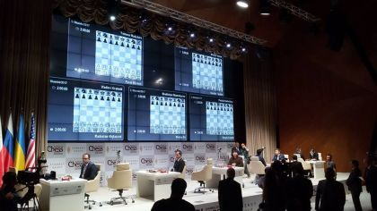 Крамник победил Харикришну в 4-м туре нашахматном мемориале Гашимова