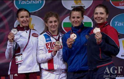 Наталья Малышева— серебряный призёр чемпионата Европы вкатегории до53кг