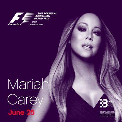 Мэрайя Кэри выступит сконцертом наГран-при Азербайджана «Формулы-1»