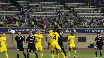 «Карабах» обыграл «Шериф» ивышел враунд плей-офф Лиги чемпионов