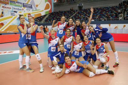 Женская сборная Голландии обыграла команду Азербайджана ивышла вфинал чемпионата Европы
