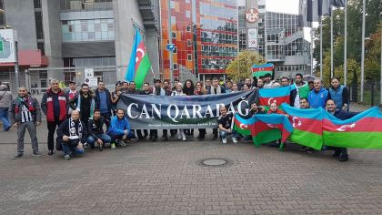 Сборная Германии разгромила команду Азербайджана в матче отбора ЧМ-2018