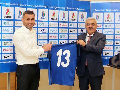 Стал известен новый главный тренер сборной Азербайджана