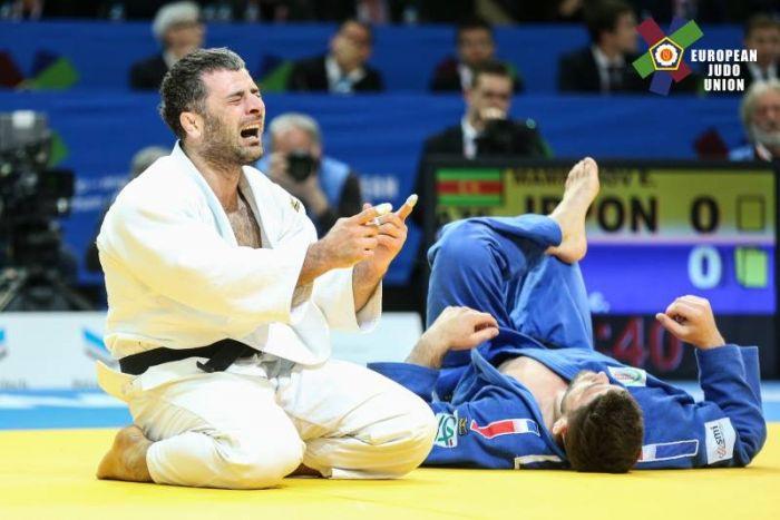 Украина взяла первую медаль наЧЕ подзюдо