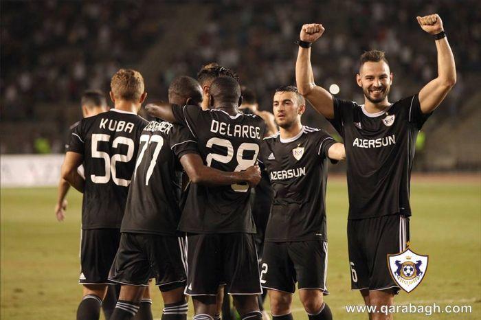 «Карабах» неоставит шансов «Кукеси» вответном матче квалификацииЛЧ