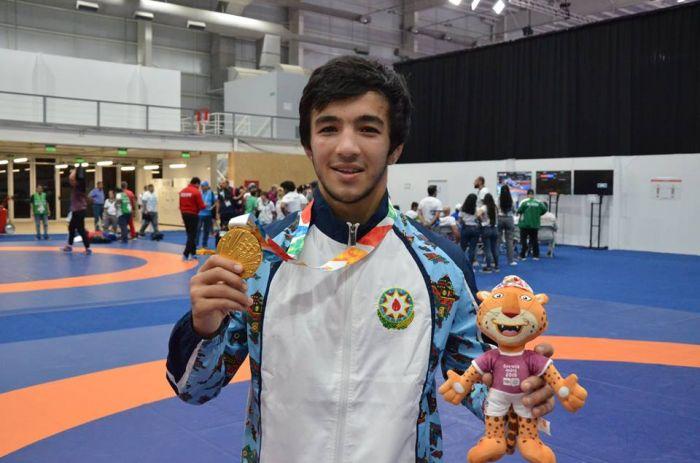 Кыргызстанский борец завоевал «серебро» юношеской олимпиады
