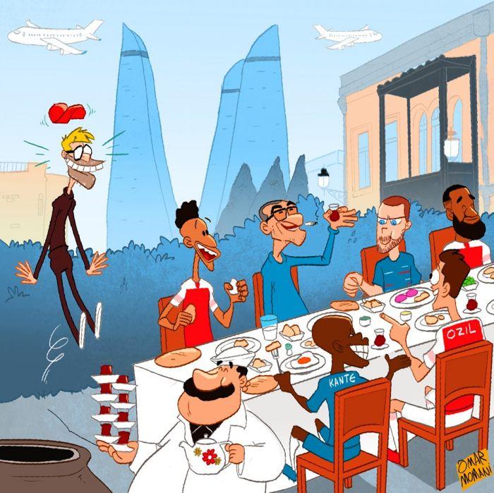Омар Момани обратился к Юргену Клоппу: Азербайджанский завтрак объединяет  людей
