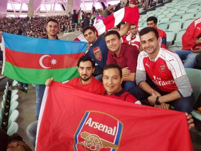 Фан клуб лондонского арсенала в азербайджане