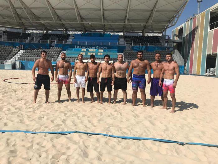 Сборная Российской Федерации попляжному футболу вышла вполуфинал Всемирных пляжных игр
