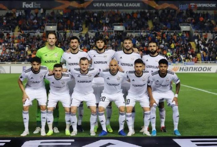 Азебайджан против испании футбол